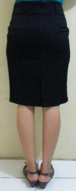 Rok Pendek Span Smp Size L 1 rok span pendek hitam cewek wanita cewe kantor kerja formal must muss