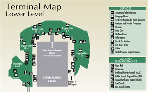 bwi terminal map bwi car service lasting impressions