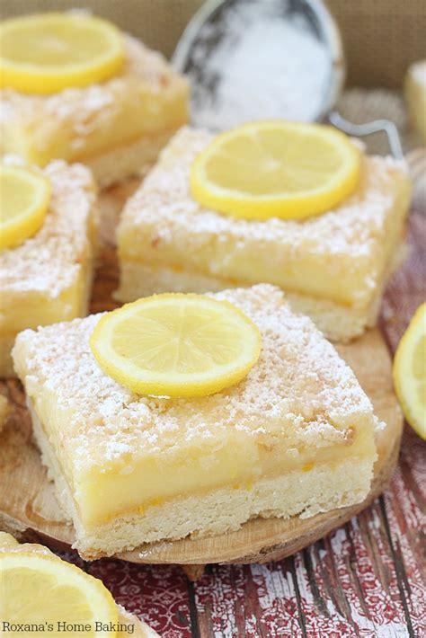 Lemon bars recipe Lemon Dessert Bars