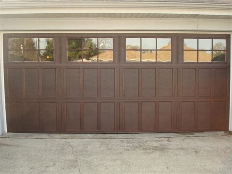 Brown Garage Door by Advanced Garage Doors Services Offered In The New