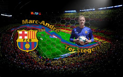 wallpaper barcelona fc 2014 download ter stegen barcelona 2014 hd wallpapers desktop