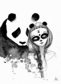 pandamonium june leeloo paints awesome pandas  maidens