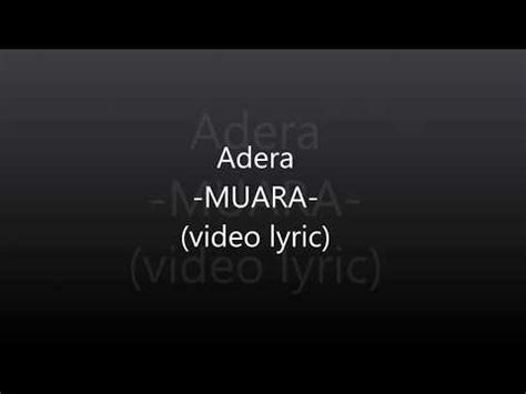download mp3 free adera muara adera muara vidio lirik youtube