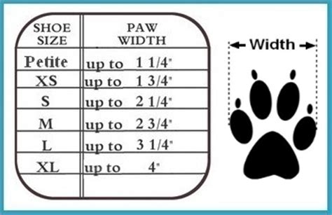 puppy paw size calculator non slip ultra paws durable boots