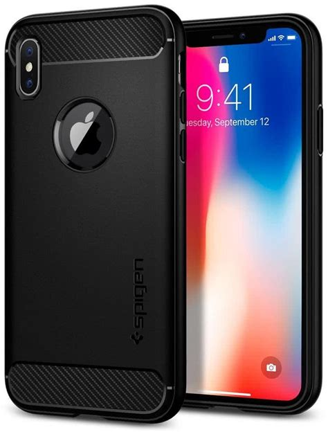Spigen Rugged Armor Original For Iphone 66s spigen apple iphone x rugged armor black 057cs22125