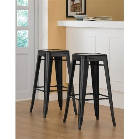 30 Inch Metal Bar Stools by 30 Inch Steel Metal Counter Bar Stools Set Of 2
