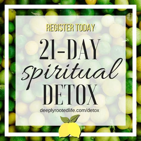 21 Day Detox Spiritual Support by 351487 Best Faithsmessenger Images On