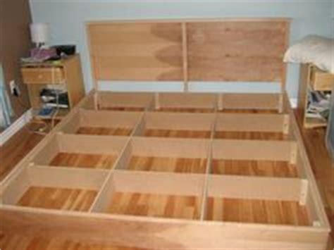 floating platform bed plans floating platform bed frame plans woodguides