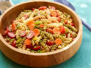 recipe for pasta salad garden pasta salad recipe food network