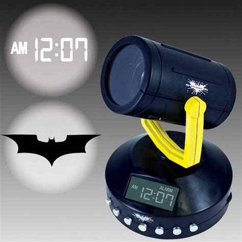 alarm clocks that shine on ceiling batman signal projection clock you ve gotto admit it s pretty awesome you you want it