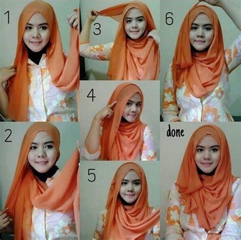 tutorial hijab segi empat simple elegan elegant segi empat hijab tutorial 2016 hijabiworld