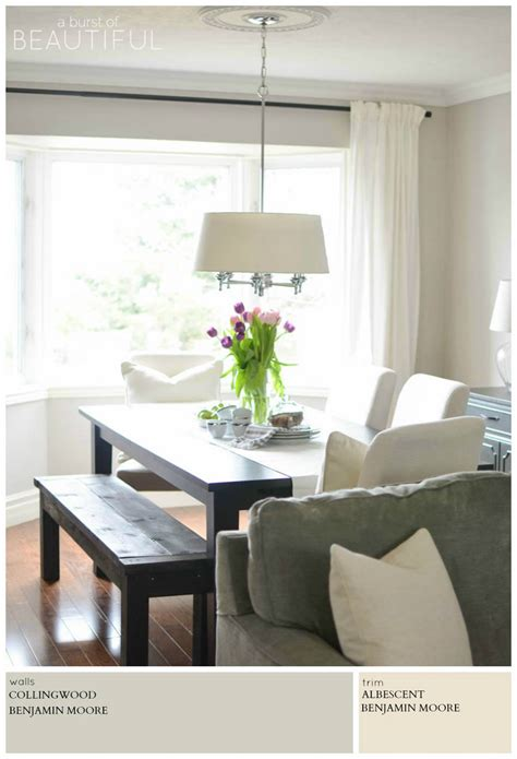 Modern Dining Room Paint Colors by Modern Farmhouse Neutral Paint Colors A Burst Of Beautiful