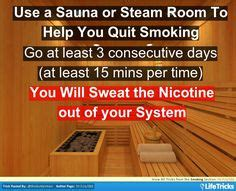 Sauna Detox To Quit by Did You That Within 20 Minutes Of Quitting
