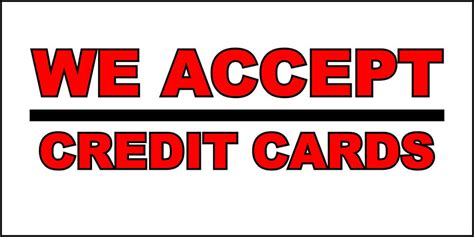 we accept cards sticker template we accept credit cards business decal sticker retail store