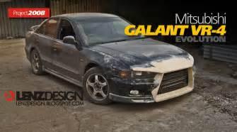 Mitsubishi Galant Custom Parts Mitsubishi Galant Vr 4 Lenzdesign Evolution