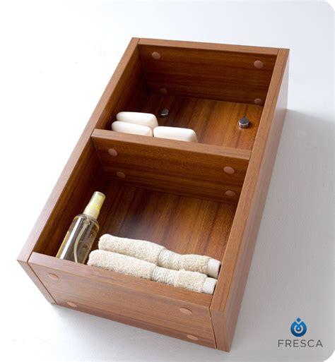 Fresca Fst8092tk Teak Bathroom Linen Side Cabinet With 2 Teak Bathroom Storage