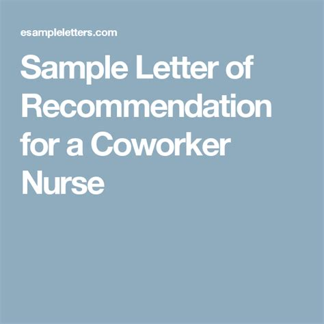 reference letter for coworker sample reference letter for student