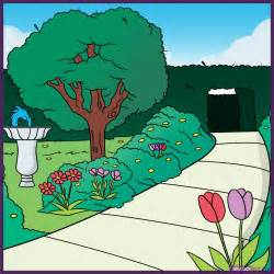 how to draw a garden step by step landscapes landmarks