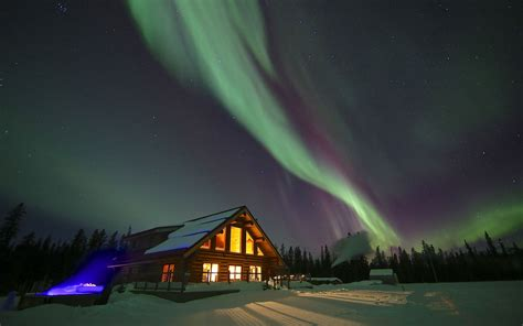 Best Places To See Lights by Yukon Canada Best Places To See The Northern Lights Travel Leisure