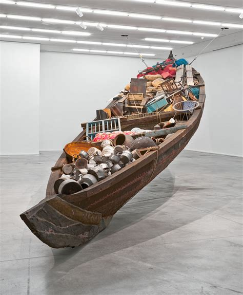 subodh gupta the 187 london subodh gupta what does the vessel contain that the river does not at hauser