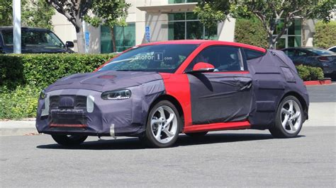Hyundai New 2019 by 2019 Hyundai Veloster Sheds Some Camo Shows New Lines