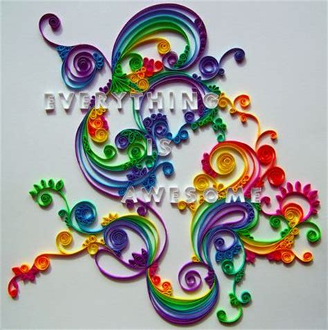 cool arts and crafts with paper cool paper crafts color quilling awesome