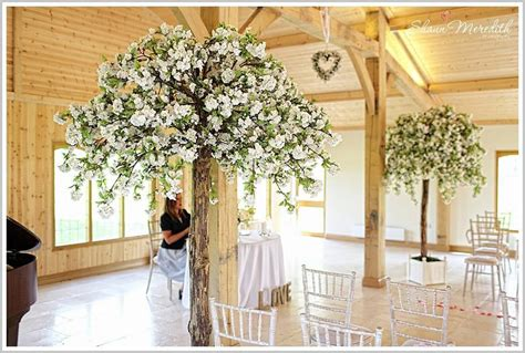 tree decorators for hire wedding blossom trees brides helper