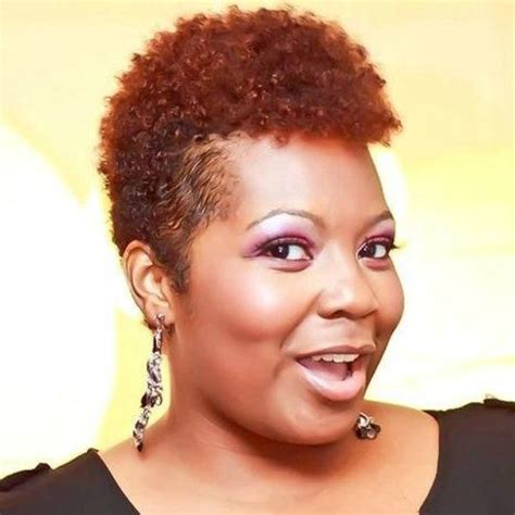 short afro hairstyles for round faces short natural hairstyles for black women with round faces