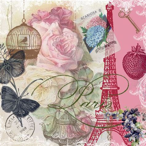 tumblr themes vintage scrapbook free free 12 x12 paris vintage collage paper design i created