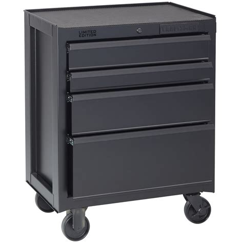 craftsman 26 4 drawer tool chest craftsman 26 5 in wide 4 drawer bottom chest flat black