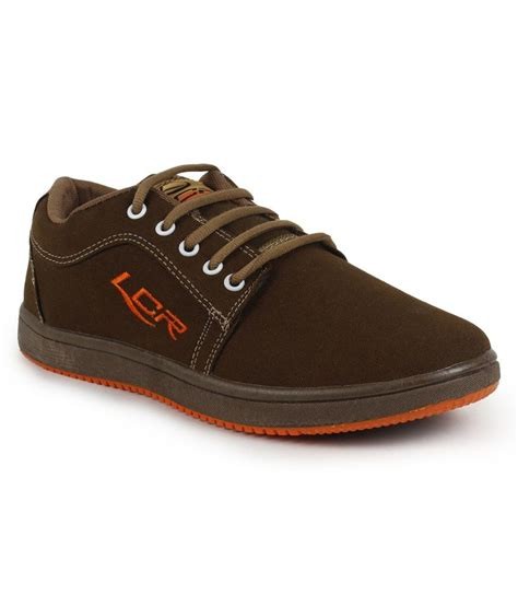 buy lancer black trendy casual shoes for snapdeal