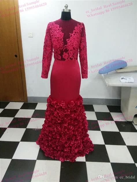 Fh Dress Kid Carista Maroon Kid evening dresses plus size real photos lace burgundy saudi arabia prom dresses with