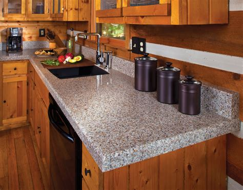 pairing rustic kitchen cabinets with granite countertops