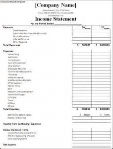 financial report template word excel pdf