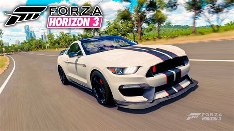 mustang horizon forza horizon 3 ford mustang 2016