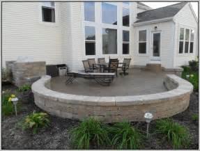Concrete patio ideas for backyard patios home design
