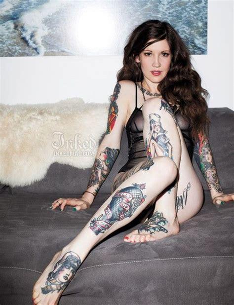 tattoo girl magazine zoe inked magazine tattoos pinterest girl model