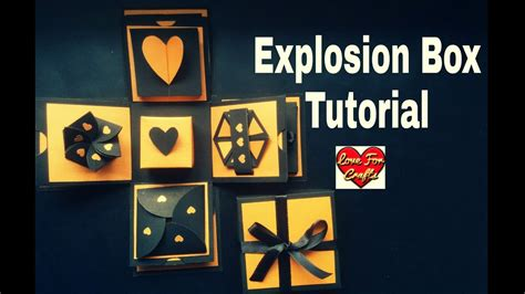 explosion box full tutorial explosion box tutorial diy valentine s anniversary