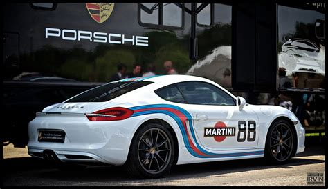 Porsche Design Aufkleber by Cayman 981 S Martini Folierung Aufkleber Porsche