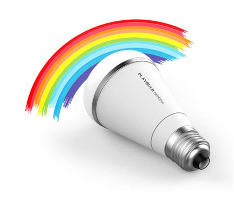 rainbow light effect app playbulb rainbow bluetooth smart led light bulb iphone and