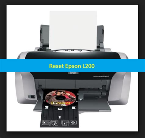 reset epson l200 printer reset epson l200 adjestment program and service requried