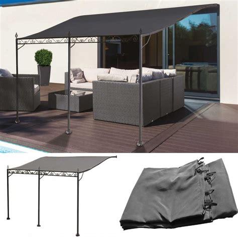 terrasse 4 x 3 m auvent pergola adoss 233 pour terrasse gm 3 x 4 m avec toile