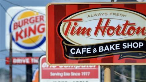 Restaurant Brands International Mba Internship by Tim Hortons Burger King Finalize Merger Now Called