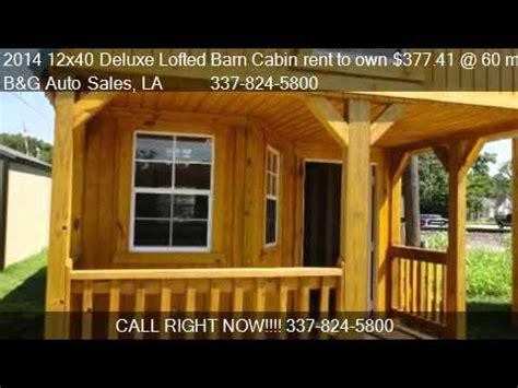 deluxe lofted barn cabin rent