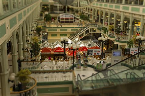Miniature by File Stephens Green Shopping Mall Miniature Fake