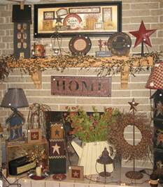 primitive decorating ideas on