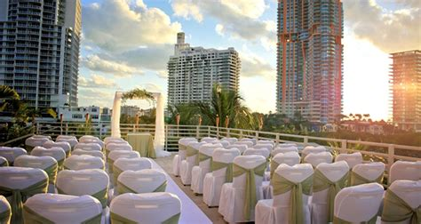 hilton bentley miami florida venue hilton bentley miami south beach weddings