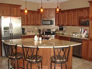 Corner Kitchen Island Cherry Kitchen Mediterranean Kitchen Chicago By