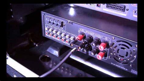 connect speaker   karaoke amplifier complete pro