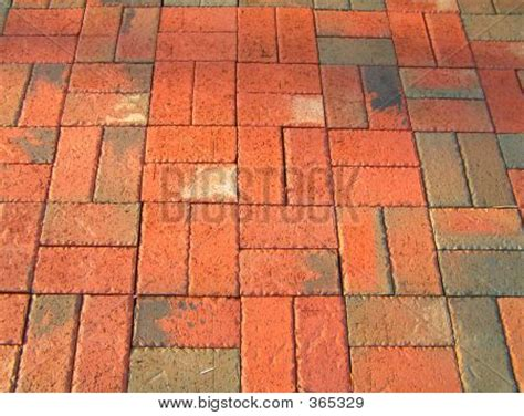 Basket Weave Brick Patio by Basket Weave Patio Stock Photo Stock Images Bigstock